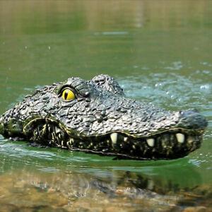 JJRC Simulation Crocodile Head RC Boat 2.4G Remote Control Electric Water Toys