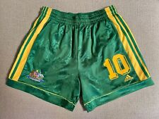 AUSTRALIA SOCCEROOS 1999/2000 KEWELL #10 VINTAGE PLAYER MATCH SHORTS MENS XL
