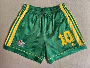 AUSTRALIA SOCCEROOS 1999/2000 KEWELL #10 VINTAGE PLAYER MATCH SHORTS MENS XL