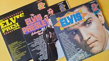 The Elvis Presley Collection Vol.1 2 3  LP Camden