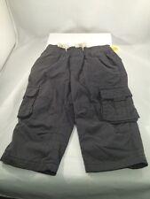 CHEROKEE Boy's Gray color PANTS size: 12M  NWT 75% Cotton