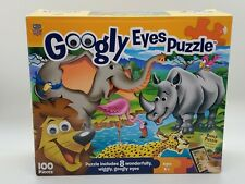 Master Kids Pieces 100  Puzzle with 6 Googly Eyes Puzzle lion