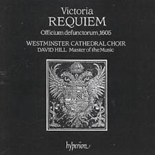 Tomas Luis de Victoria : VICTORIA REQUIEM MASS CD (1994) ***NEW***