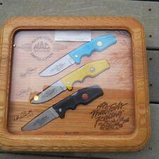 Gerber 600 knife Mac Tool 1992 racing series knife set made in USA (lot#12050)