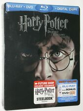 HARRY POTTER AND DEATHLY HALLOWS - Part 1 Blu-ray 3-Disc Future Shop Steelbook