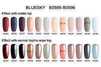 BLUESKY 80596 CLASSIC UV LED Soak Off Gel Nail Polish MATTE & SHINY COLOURS