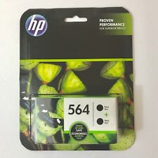 HP 564 Black Twin Pack Ink Cartridges Exp 01/2019