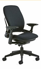 Steelcase Leap Fabric Chair Black Brand New
