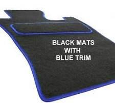CITROEN C2 03-09 Fitted Custom Made Tailored Car Floor Mats Black & BLUE trim