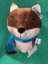 Brand New Piper Kids Child's Plush Animal Wall Decor Brown Fox Head All Tags NWT