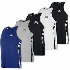 Lonsdale Muskel Shirt Tank Top Muscle Muskelshirt Fitness MMA Vest Neu S-4XL Fit