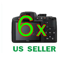 6x Nikon Coolpix P510 Digital Camera LCD Screen Protector Guard Film