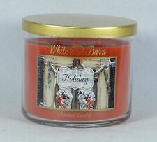 Bath & Body Works White Barn HOLIDAY 3-Wick Filled Candle 14.5 oz