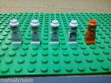 LOT OF 5 LEGO MICRO MINIFIGURES USED ORIENT BAZAAR, RAMSES PYRAMID,
