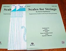 Scales for Strings Applebaum Book 2 String Bass