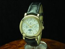 Concord 18kt 750 Gold Automatic Complete Calendar Moon Phase / Ref 956235