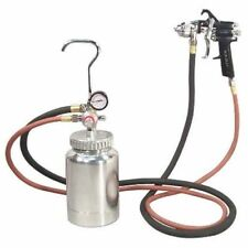 Astro Pneumatic 2 QUART PRESSURE POT COMPLETE KIT SPRAY GUN POT & HOSES