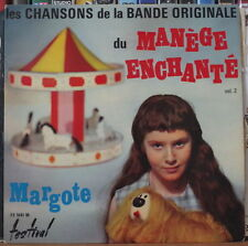 """MARGOTTE LES CHANSONS DU MANEGE ENCHANTE POLLUX COVER 45t 7"""" FRENCH EP"""