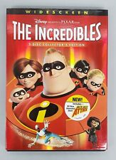 Disney-Pixar The Incredibles (Dvd, 2005) 2-Disc Collector's Ed. Never Viewed