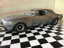 GMP 1967 Chevrolet Camaro Z/28 Special Aluminum Finish 1:18 13021BA