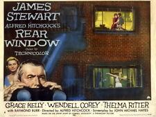 V5238 Rear Window 1954 Retro Classic Movie Vintage Decor PRINT POSTER Affiche