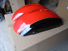 INDIAN MOTORCYCLES Saddlebag Lids - 5450214 & 5450213 Red/Black Display