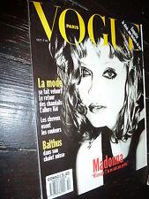 MADONNA Vogue Paris ELLEN VON UNWERTH French GIRLIE SHOW PROMO Blond Ambition