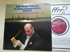 Solti Chicago Showcase Strauss, Rossini, Wagner US London Ffrr Vinilo LP NM