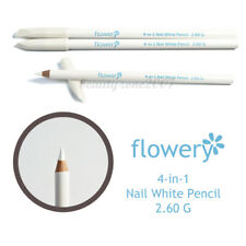 Flowery 4-in-1 White Pencil Cuticle/Prepper/Whitener/Cleaner Set of 3