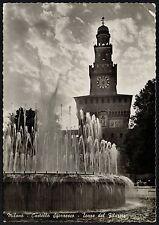AD1625 Milano - Città - Castello Sforzesco - Torre - Fontana