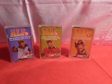 3 x Alf MC / Kassette / Folge 7, 8 und Folge 9 / 1988 / Karusell / Dolby System