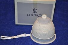 1993 Lladro Collector's Society Porcelain Christmas Bell #16010 In Original Box