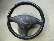 S6 Sportlenkrad Audi A6 4B Lederlenkrad Lenkrad schwarz 4B0419091CH