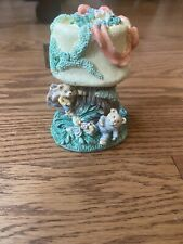 Ceramic Tree with decorative Bear that opens