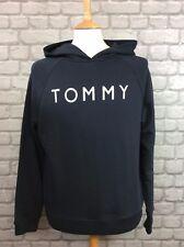 TOMMY HILFIGER LADIES UK XL HEAVY WEIGHT PEACOAT HOODED TOP HOODIE RRP £110