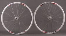 Weinmann DP18 Deep V Silver 36 Hole Track Bike Fixed Gear Wheels Wheelset