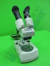 Boreal 55728-02 Student Stereo Microscope with Glass Stage Plate W10X/20