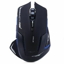 2.4GHz Wireless PRO Gaming Mouse Blue LED 2500DPI E-3lue 6D Mazer II PC Laptop