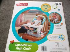Fisher Price Spacesaver High Chair New