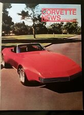 CORVETTE NEWS June July 1976 bi monthly issue clean magazine
