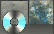 BIBIO A tout a L'heure / you RARE 2013 SAMPLER 2TRX TST PRESS PROMO DJ CD Single