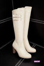 2016 Damen Stiefel mit hoch Absatz Schwarz Braun Beige lange Stiefel Größe:31-48