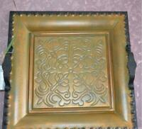 """Fruit Trays Iron Home Decor Platter 15.7"""" Serving Dishes Square Sundries Wedding"""