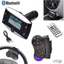 LCD Car Kit MP3 Player Bluetooth FM Transmitter Modulator SD MMC USB Remote