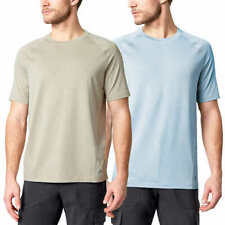 SALE! Mondetta Men's Active Tee 2-pack 4-Way Stretch Breathable T-Shirts H21