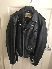 Schott perfecto NYC leather biker jacket 618