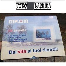 """DIKOM dx-dpf-081 cornice digitale HD lcd tft 8""""  ( 800x600)"""