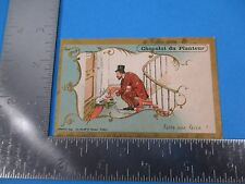 Antique Trade Card THES de la Cie Coloniale L.Maussion 19 Rue Crebillion S3347
