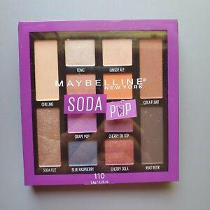 Maybelline New York Soda Pop Eye Shadow Palette #110 Purple Blue Pink Shimmer