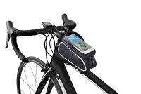 Borsa Borsetta TUBO anteriore impermeabile Porta Cellulare 6.0 Bici Ciclismo Bag